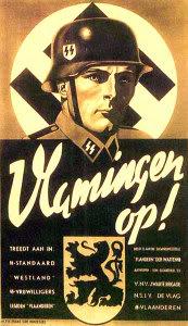 IMMORALITE ET SOCIETE DE MORT Nazipropaganda_Vlamingenop