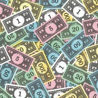 2012 : PUCES IMPLANTABLES, RFID, NANOTECHNOLOGIES, NEUROSCIENCES, N.B.I.C., TRANSHUMANISME  ET CYBERNETIQUE ! Argent-monopoly1