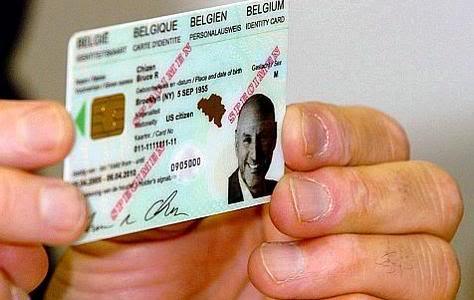 2012 : PISTAGE DES CITOYENS : SATELLITES, CAMERAS, SCANNERS, BASES DE DONNEES, IDENTITE & BIOMETRIE EID_belgique_NWO