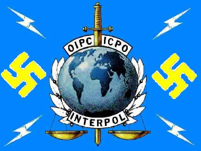 NOUVEL ORDRE MONDIAL : DE QUOI SE COMPOSE-T-IL, ET QUELS SONT SES BUTS ? - Page 15 Interpol_nazi