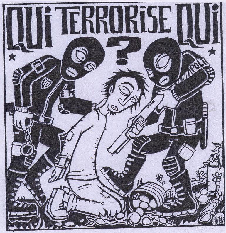 """11 SEPTEMBRE 2011 : TERRORISME D'ETAT ET SUPPRESSION DES LIBERTES SUR TOUTE LA PLANETE AU NOM DE """"L'ANTI-TERRORISME"""" ET DU MYTHE DE LA SECURITE INTEGRALE ! Quiterroristequi"""