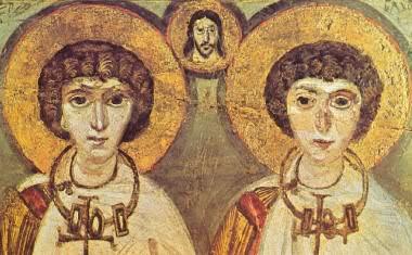 1000 ans de mariages homosexuels au sein de l'Eglise ! Sergius_bacchus_7th_century