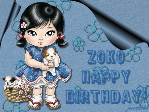 Zoko srecan rodjendan Zoka
