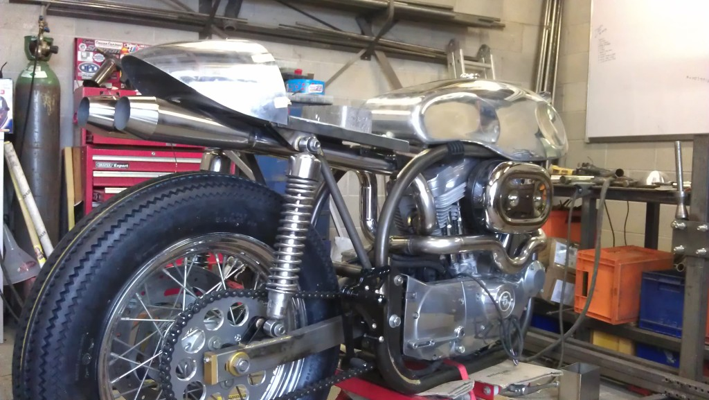 this is my sportster cafe racer  IMAG0967