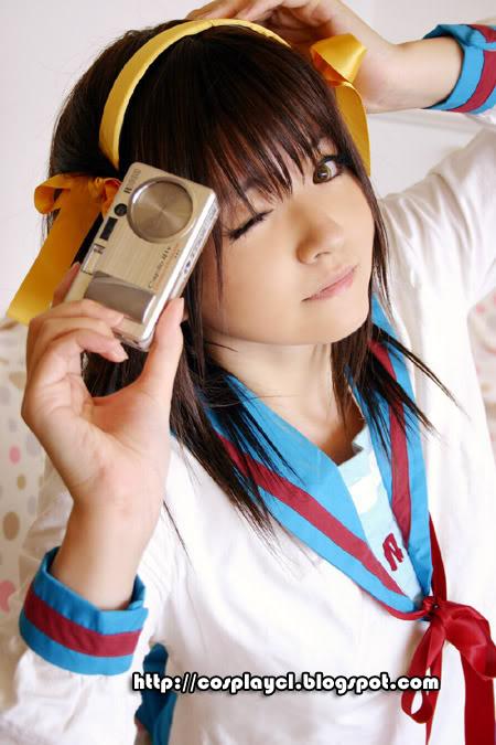 los mejores  cospley Haruhi1