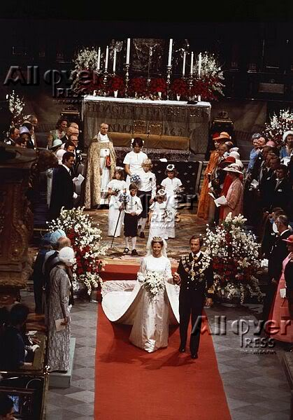 Carlos Gustavo XVI y Silvia Wedding07