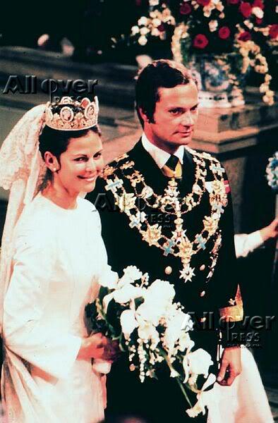 Carlos Gustavo XVI y Silvia Wedding15