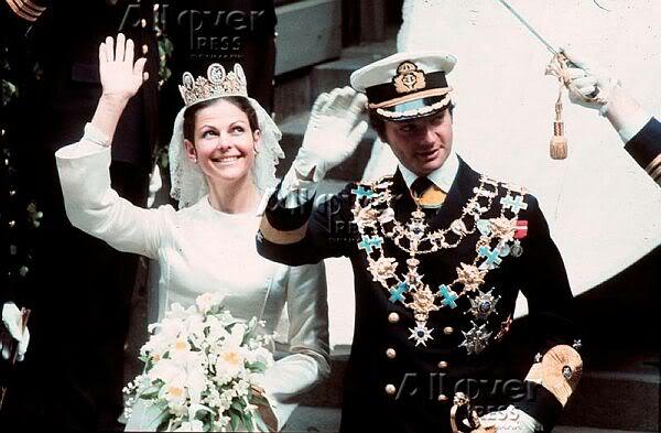 Carlos Gustavo XVI y Silvia - Página 2 Wedding16