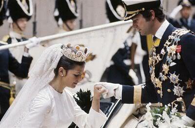 Carlos Gustavo XVI y Silvia Wedding27
