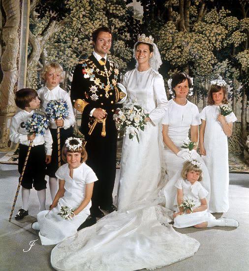Carlos Gustavo XVI y Silvia - Página 2 Wedding85