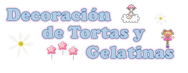 Decoración de Tortas y Gelatinas