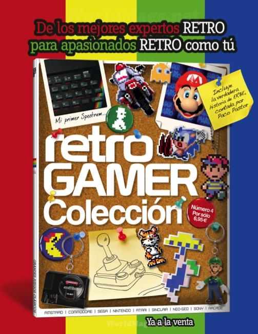 Revista RETROGAMER --Número 5 al caer-- Retrogamer4publicidad