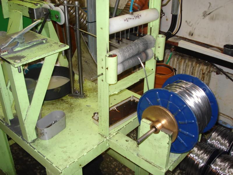 Visita a Fábrica da JSB (Fabricante Tcheco dos melhores chumbos do mundo) DSC08900
