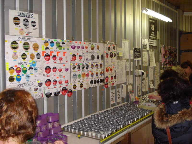 Visita a Fábrica da JSB (Fabricante Tcheco dos melhores chumbos do mundo) DSC08913