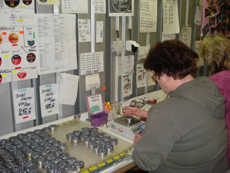 Visita a Fábrica da JSB (Fabricante Tcheco dos melhores chumbos do mundo) DSC08922
