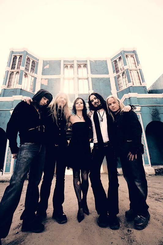 nightwish , le groupe , la nouvelle chanteuse  ... Promo-band