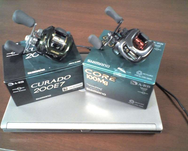 BRAND NEW Shimano Curado and Core Reels for Sale, just in time for XMAS Shimanoreels-1