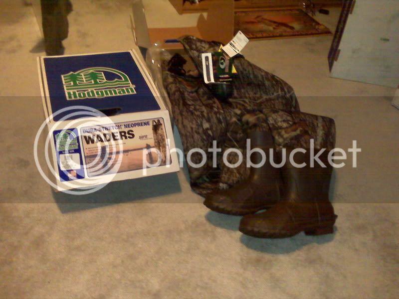 BRAND NEW IN THE BOX!!!  Hodgman 5mm Neoprene Waders Waderssale