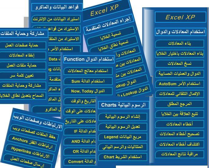 أسطوانات تعليميةللافس بالصوت والصورة وبالعربية Exel_cd2