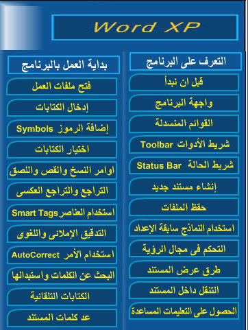 أسطوانات تعليميةللافس بالصوت والصورة وبالعربية Word_cd1