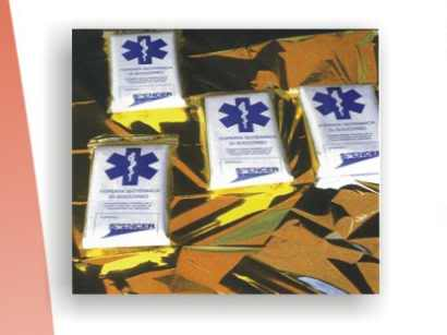 Herramienta o Equipo para Auto Rescate MantaTermica