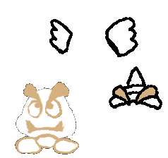 Character Templates! (And Modifiers (like Para-)) GoombabasewithParaandSpiny-1