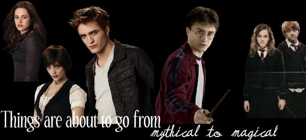 Twilight meets Harry Potter
