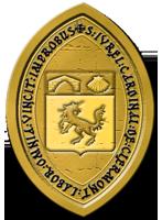 Registre de  la chapelle Saint George de Lydda rattaché à l'archevêché de Reims SceauIvrelJaune