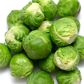 Photos of not-so-common foods fed -- Fun Fruits and Vegetables BrusselSprouts_zps026ea5db