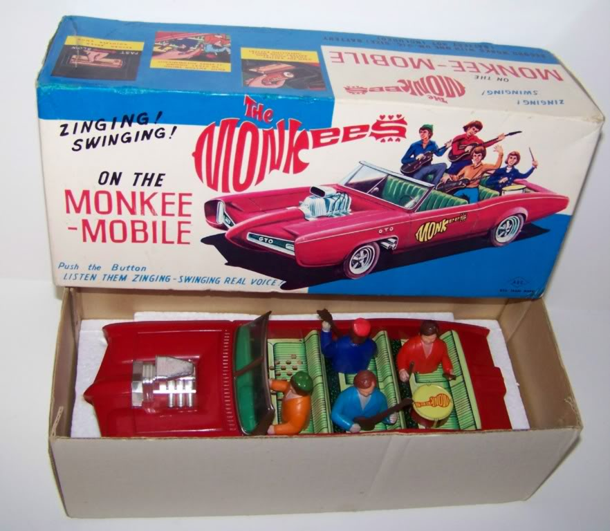 Hot Rod célèbres : 1966 GTO Monkey Mobile Toy
