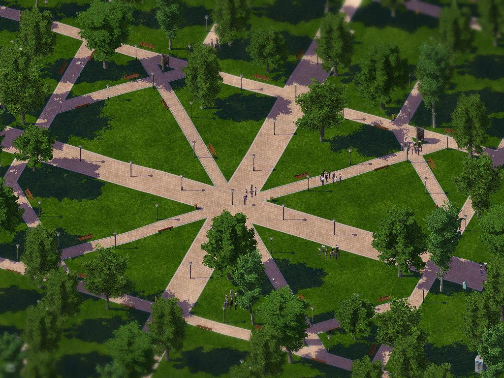 Yorktown Bids for the Simlympics Parks-2