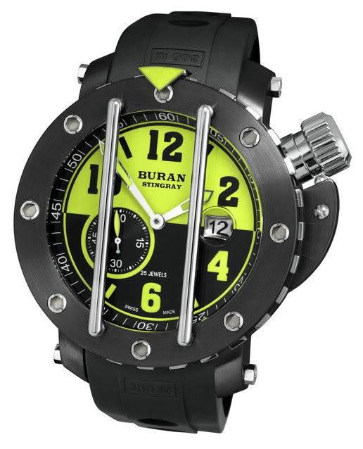 Buran Stingray Diver - My Grail BuranStingrayRussianSwissDiver2