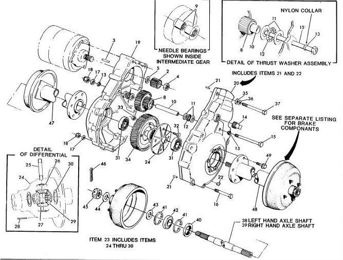 Ezgo Rear Differential Diagram Great Installation Of