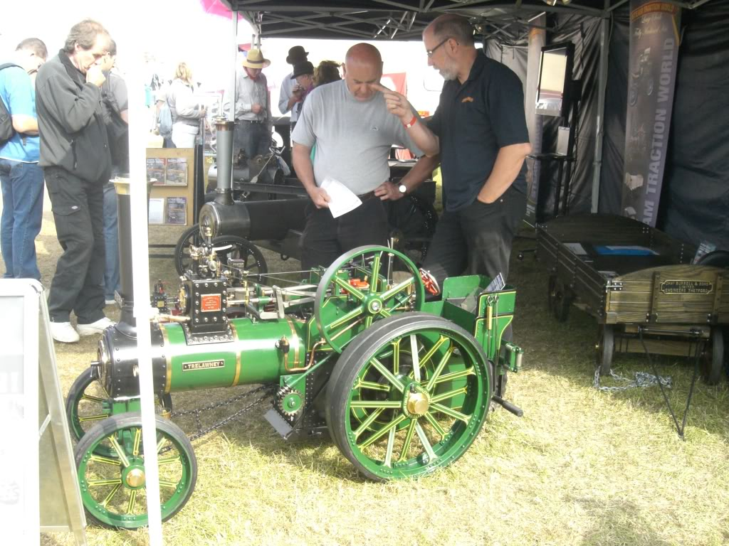 Showmans / Road loco rolling chassis CIMG1579
