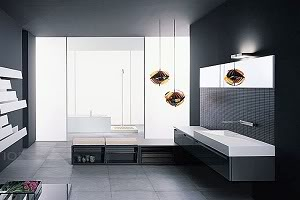 Alex`s Apartment Modernes-badezimmer-71501
