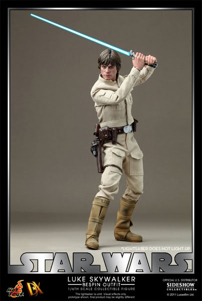 Hot Toys - 1/6 scale Bespin Luke Skywalker DX - Page 2 901399_press01-001