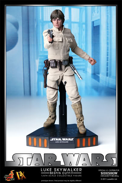 Hot Toys - 1/6 scale Bespin Luke Skywalker DX - Page 2 901399_press07-001