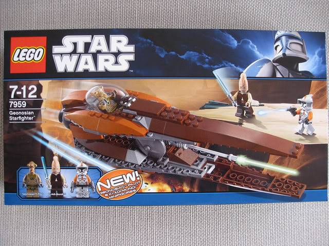 Lego - 7959 - Geonosian Starfighter  5733612138_2384ccf6d7_z
