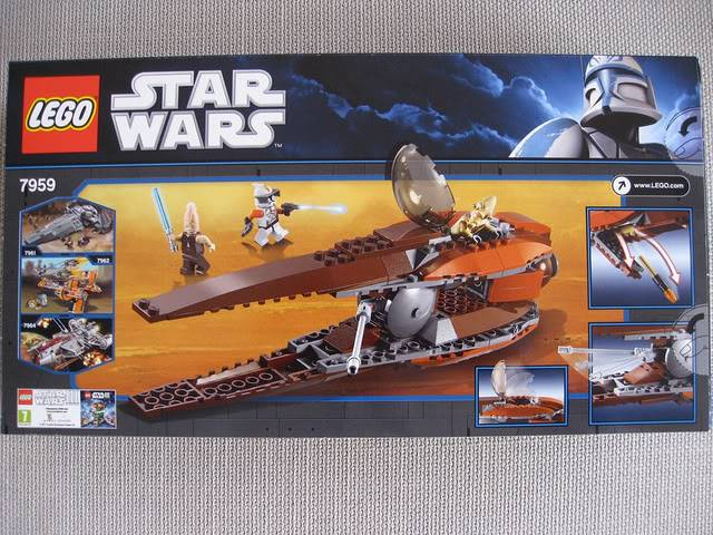 Lego - 7959 - Geonosian Starfighter  5733612538_3f988cc756_z