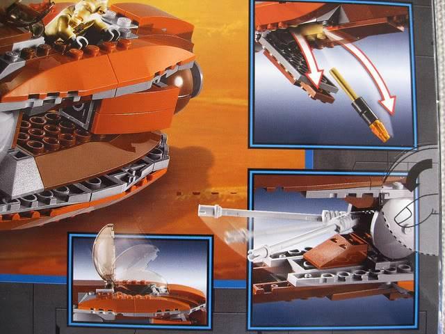Lego - 7959 - Geonosian Starfighter  5733612950_24935f5c6d_z