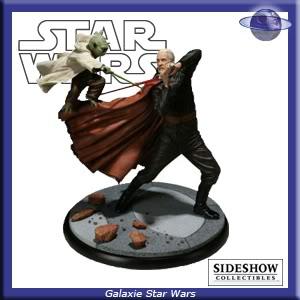 Database Diorama Sideshow SSD-Duel-Yoda-1