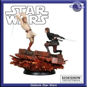 Database Diorama Sideshow SSD-Obi-Anakin-1