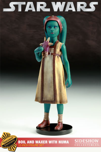 Sideshow - Boil & Waxer with Numa 12' figurines 1000121_press01-001