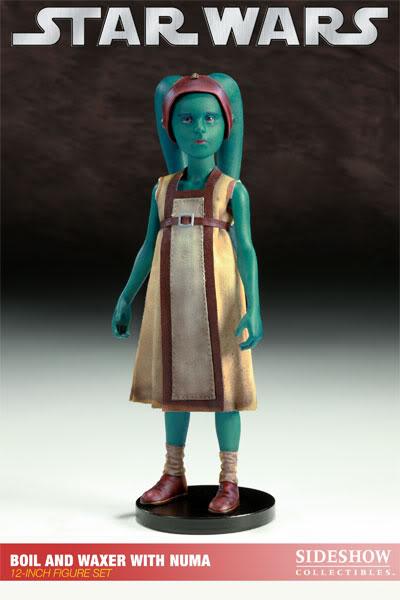 Sideshow - Boil & Waxer with Numa 12' figurines 100012_press21-001