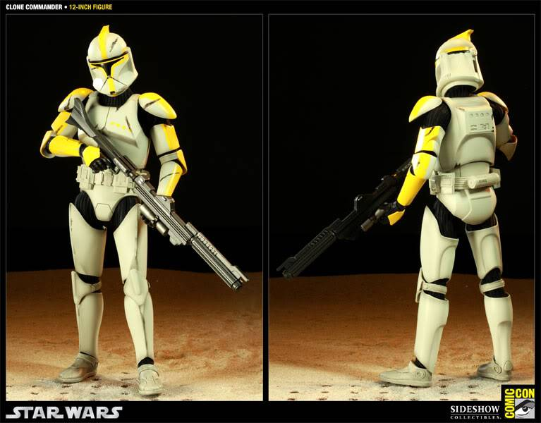 Star Wars - 12' - Clone Commander - SDCC 2011 100015_press03-001