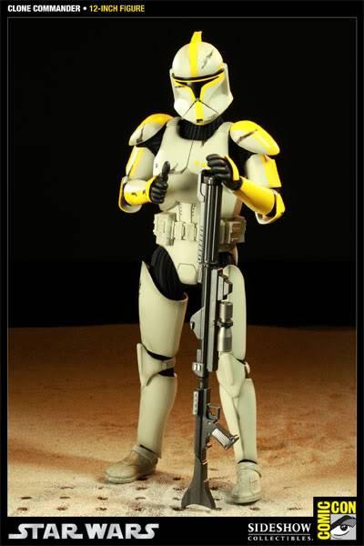 Star Wars - 12' - Clone Commander - SDCC 2011 100015_press04-001