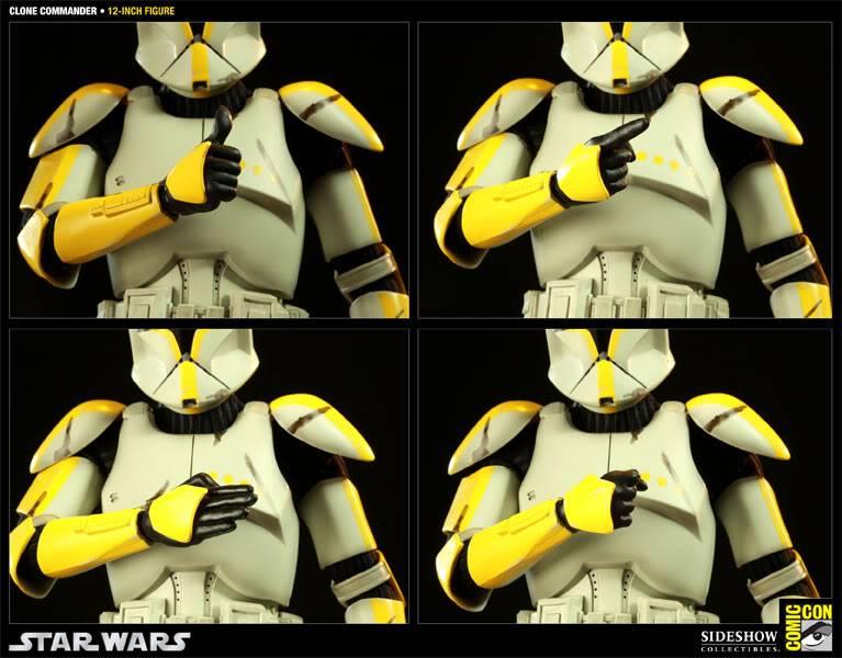 Star Wars - 12' - Clone Commander - SDCC 2011 100015_press05-001