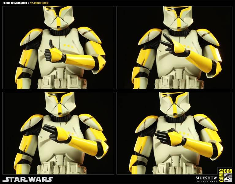 Star Wars - 12' - Clone Commander - SDCC 2011 100015_press06-001