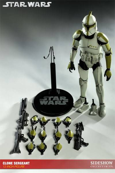 Sideshow - 12' - Clone Sergeant - Phase 1 100018_press10-001