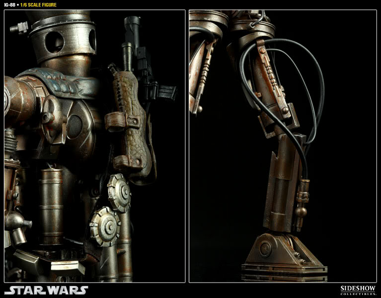 Sideshow - IG-88 - 12 inch Figure 100029_press04-001